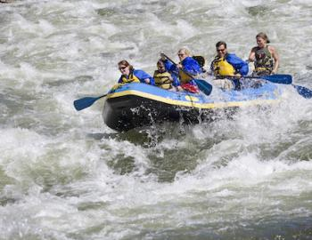 Montana Vacation Rentals - Mountain Home Montana - Whitewater Rafting